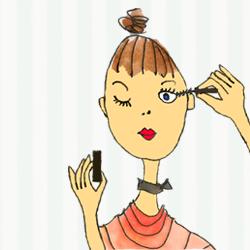 Maquillage de fêtes – les yeux