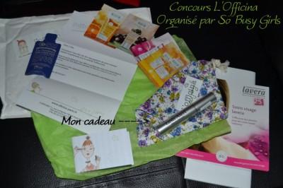 Le blog Lolita's Book: «J'ai gagné le concours L'Officina organisé par So Busy Girls!»