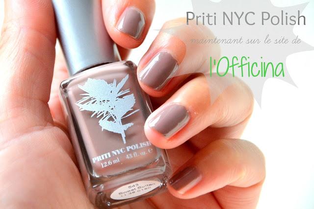 Lorsque mes ongles se mettent au naturel avec Priti NYC… par le blog Boudoir mon beau Boudoir