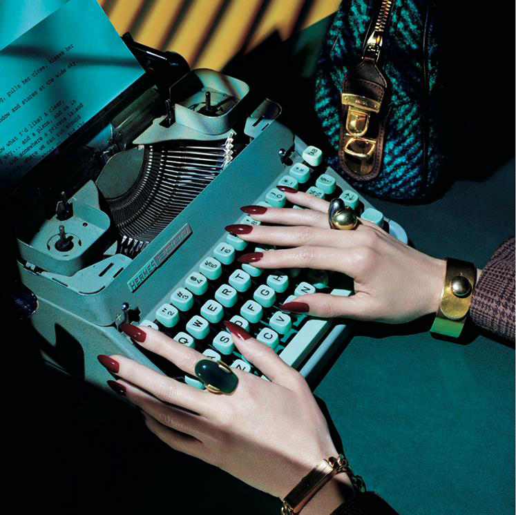 Priti NYC pour le Vogue Japon – Vertigo in her eyes
