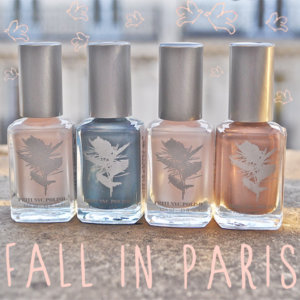 Fall in Paris… vernis à ongles Flowers PRITI NYC