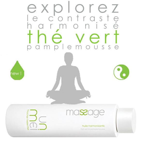 Unmei - Huile de Massage harmonisante thé vert