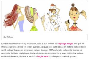 Read more about the article Petites Confidences (entre amis) – l'Eponge Konjac (… et concours – jusqu'au 2 février 2014)