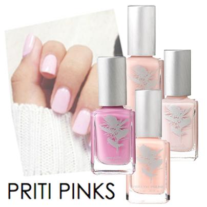 Priti Pinks… vernis à ongles non-toxiques Priti NYC
