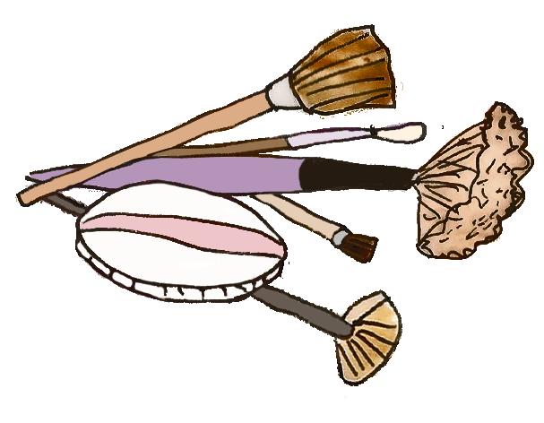 Entretien des pinceaux de maquillage
