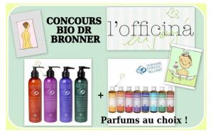 Read more about the article Concours DUO DR BRONNER en partenariat L'Officina / le blog beauté de Kirzy