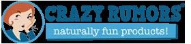 Crazy Rumors baume à lèvres naturels logo