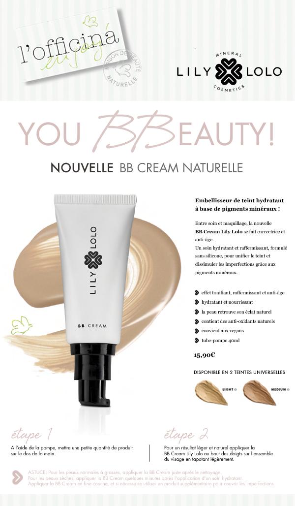 La Nouvelle BB Cream Naturelle Lily Lolo Mineral Cosmetics