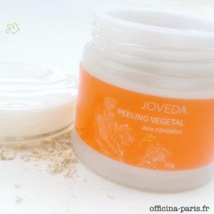 Le Peeling Végétal aux Céréales de JOVEDA testé par cocooning&co