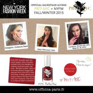 Read more about the article Priti NYC & Red Ace Rose à la New York Fashion Week