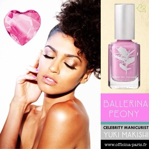 Priti NYC Ballerina Peony pour une manucure girly à souhait !