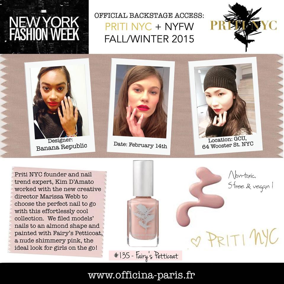Priti NYC est à la New York Fashion Week