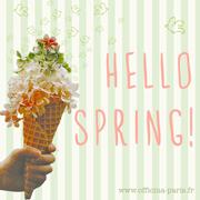 Hello Spring Officina Paris cosmétiques naturels et bio