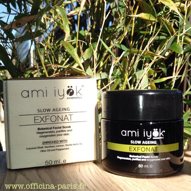 Faire peau neuve avec EXFONAT d'AMI IYÖK
