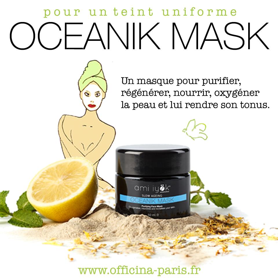 Ami Iyök Oceanik Mask Masque purifiant bio