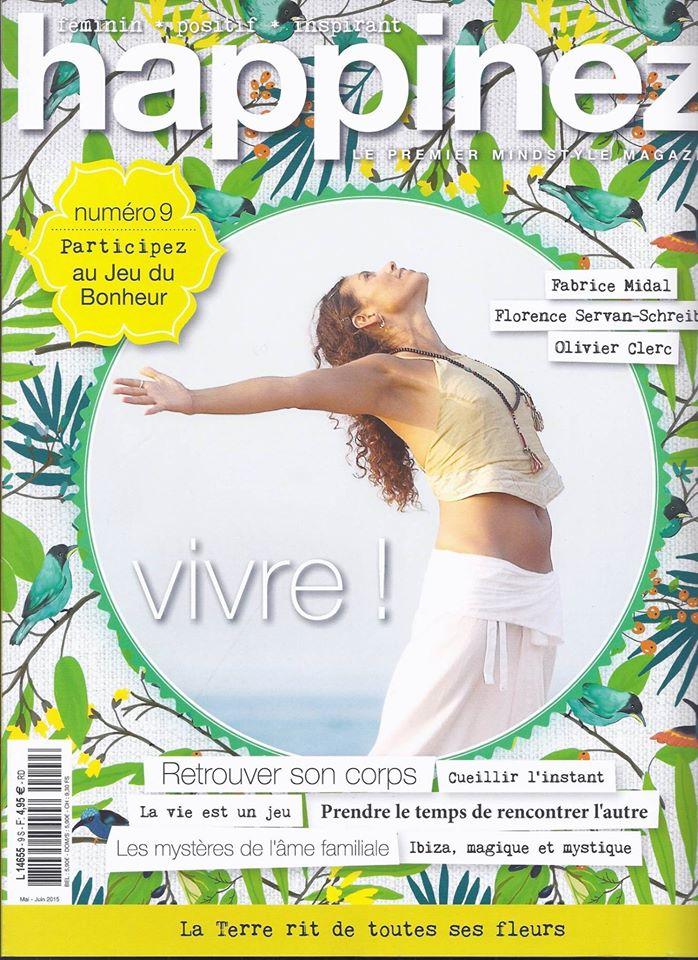 L'Après-Shampooing Hydratant UNIQUE dans le magazine Happinez