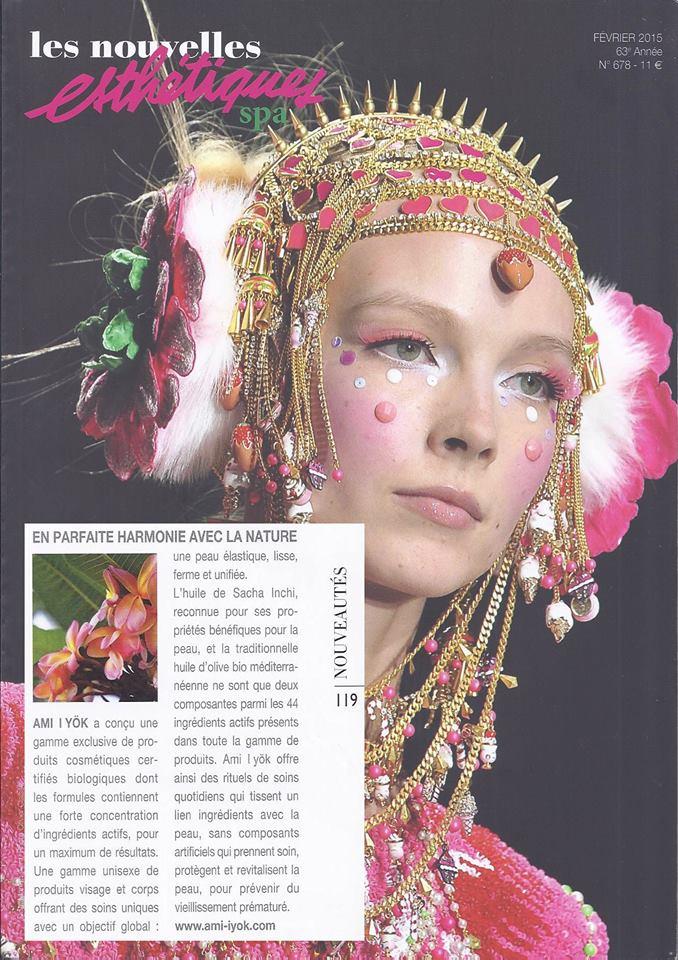 Presse: On parle d'Ami Iyök dans Les Nouvelles Esthétiques Spa