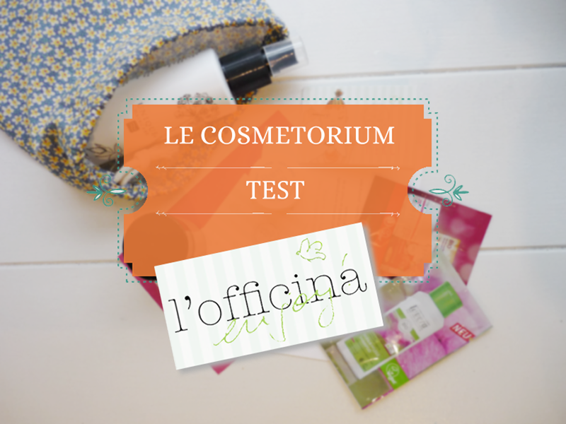 l'Officina - l'eshop au top ! Une commande chez l'Officina. Le Cosmetorium a testé et adoré l'Officina...