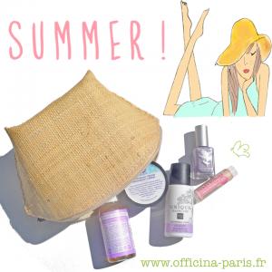 La trousse de l'été de l'Officina!