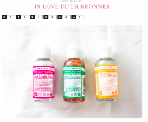 Mamzelle Emi est In Love du Dr. Bronner