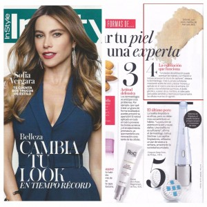 Exfonat Ami Iyök dans le magazine espagnol InStyle