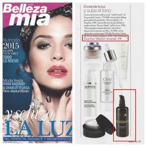 Hibistonic Ami Iyök dans le magazine espagnol Bellezamia