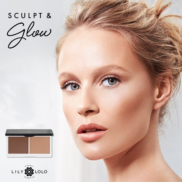 New! Duo Contouring Sculpt & Glow Lily Lolo Mineral Cosmetics