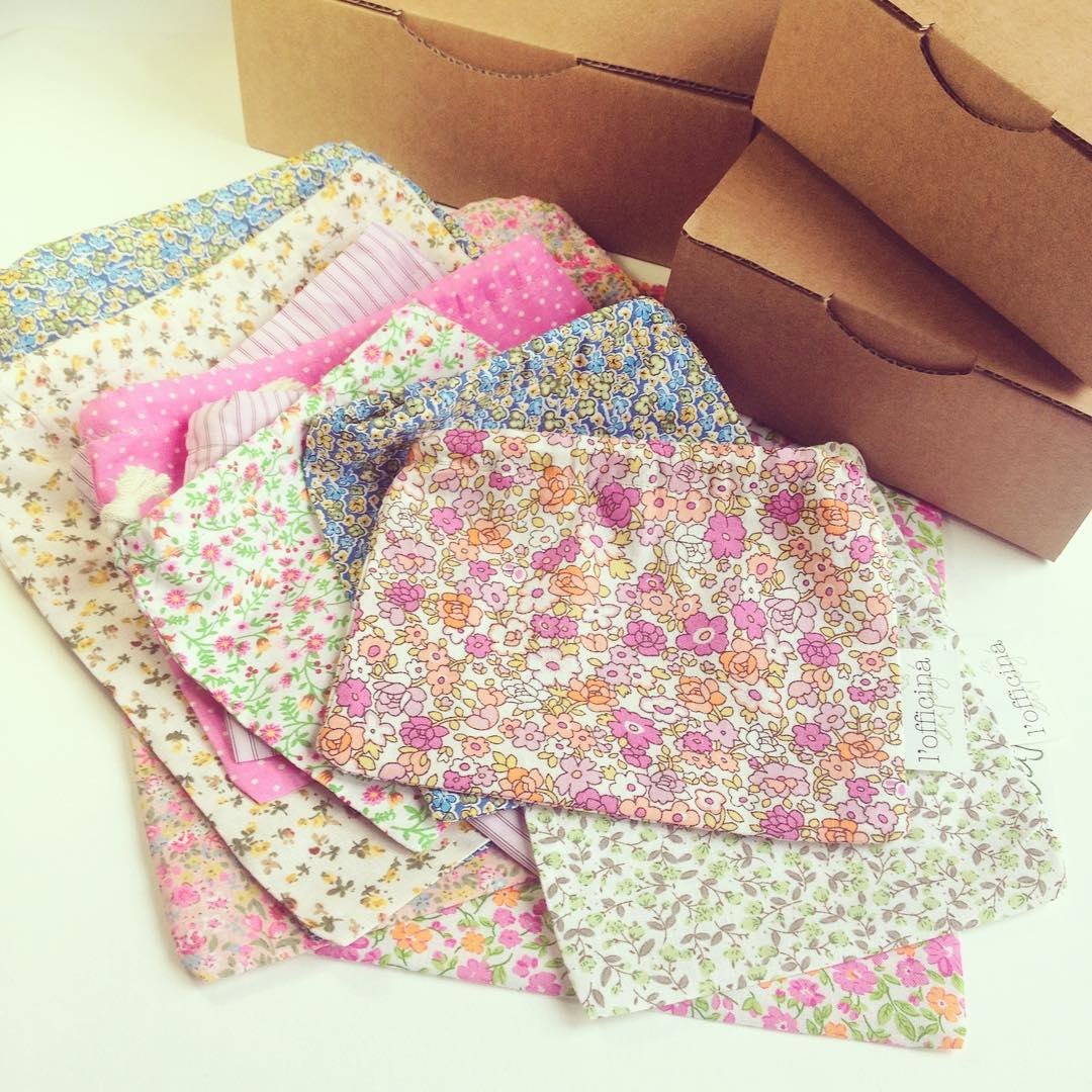 Des pochettes fleuries pour emballer vos commandes!