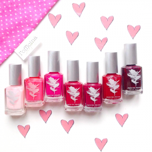 Love is in the air… Vernis à ongles non toxiques PRITI NYC