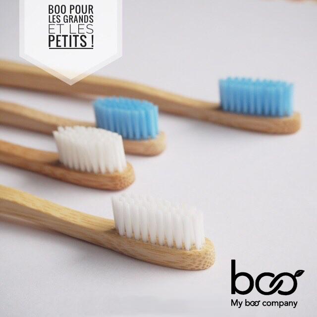 My BOO Company Brosse à Dents en Bambou