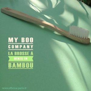 BOO – les brosses à dents en bambou