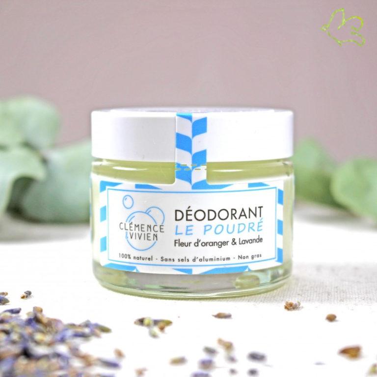Nouveau Déodorant Crème bio de Clémence & Vivien