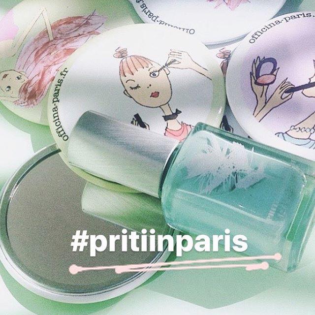 Concours Instagram: PritiinParis – vernis à ongles Bluestar