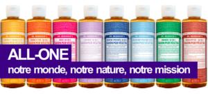 Le Savon liquide Dr. Bronner's – multi-usage 18-en1