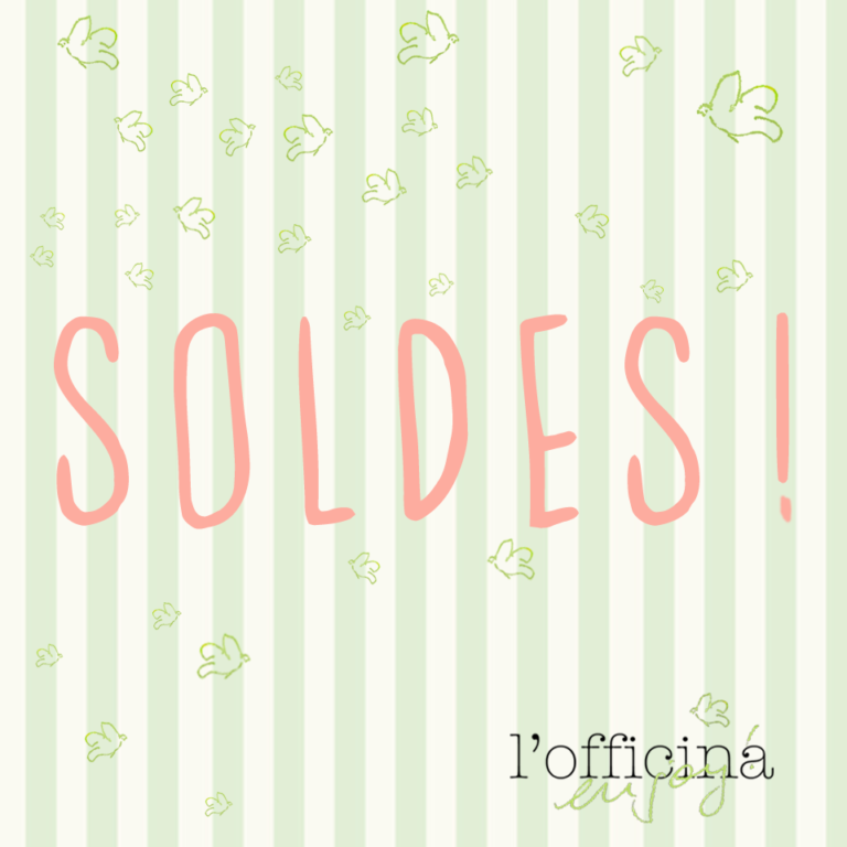 Read more about the article Soldes à l'Officina!