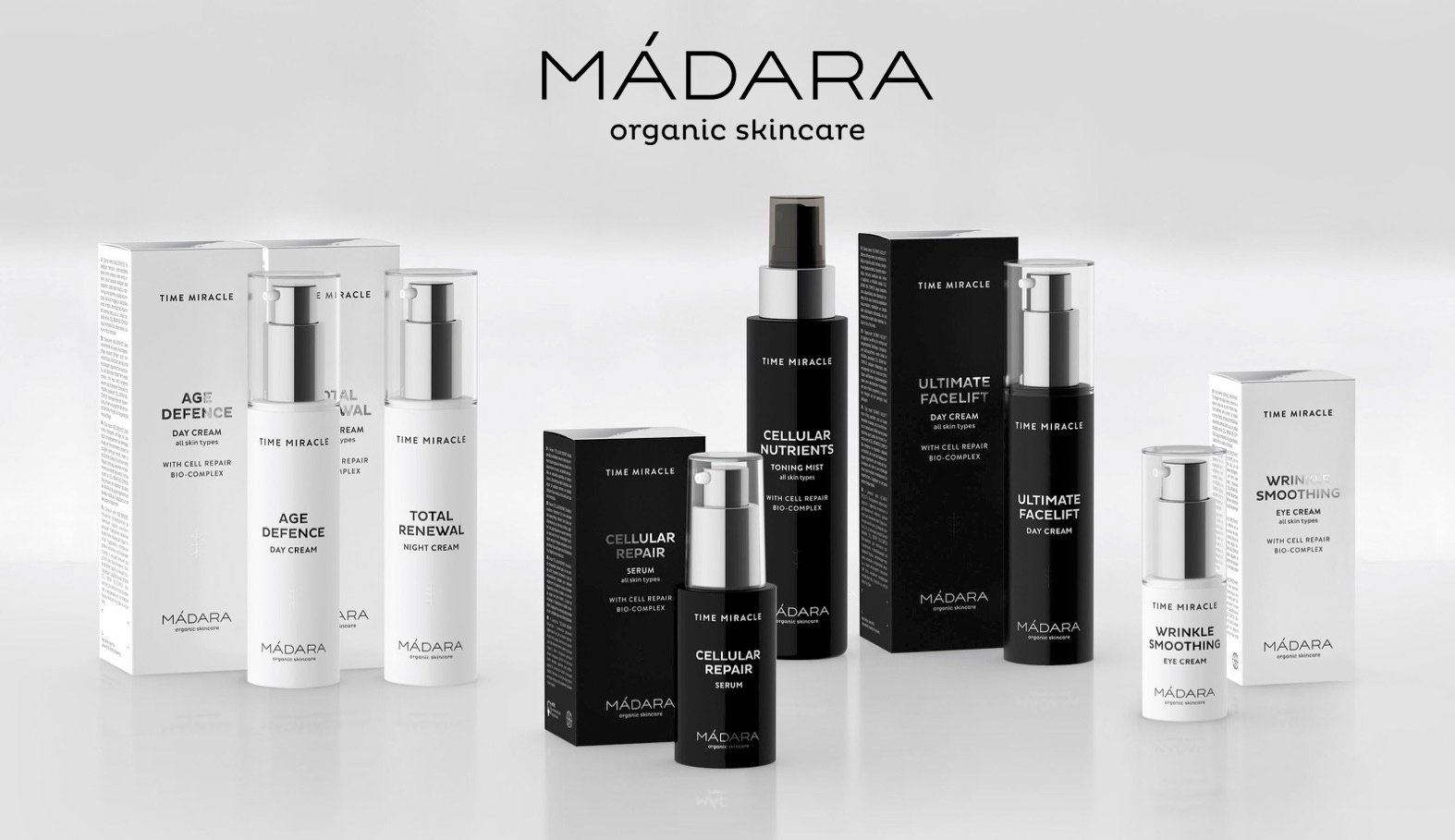 Madara cosmétique bio ligne Anti âge Time Miracle