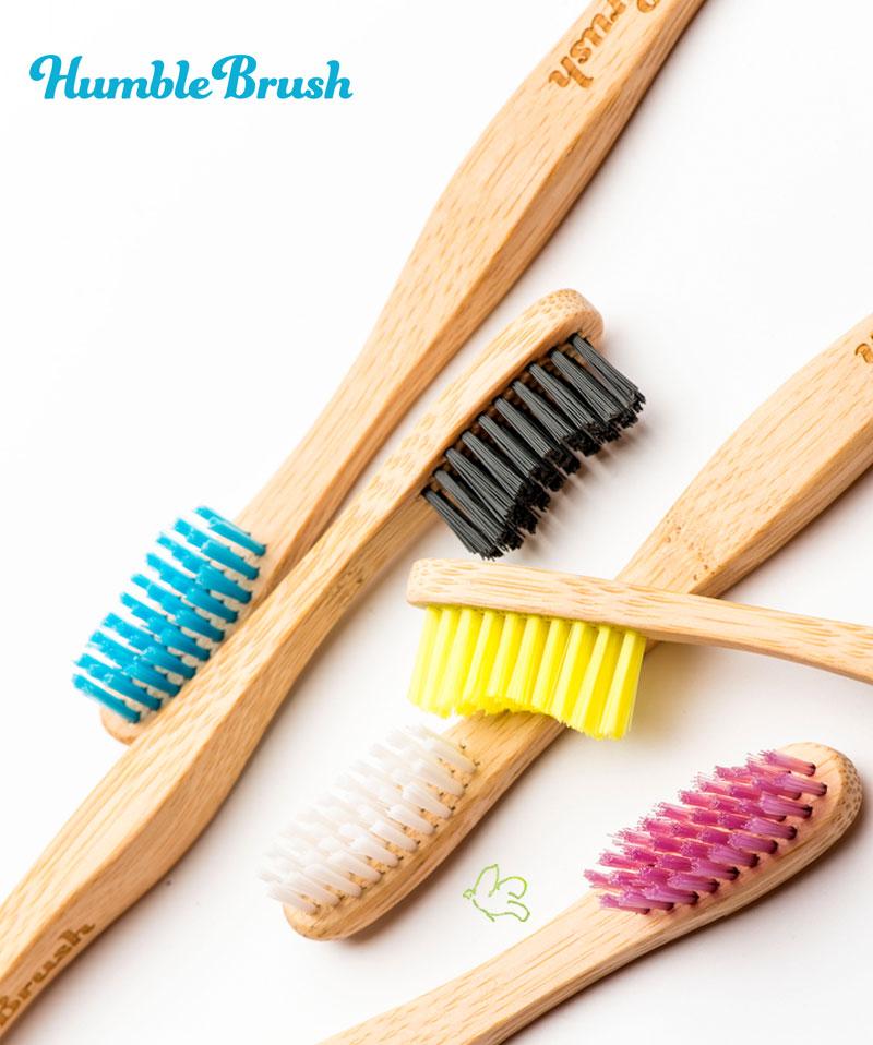 Humble Brush La Brosse à dents écologique en Bambou