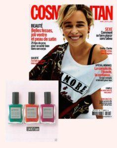 Couleurs de l'été! La nouvelle collection Green Manucurist dans Cosmopolitan