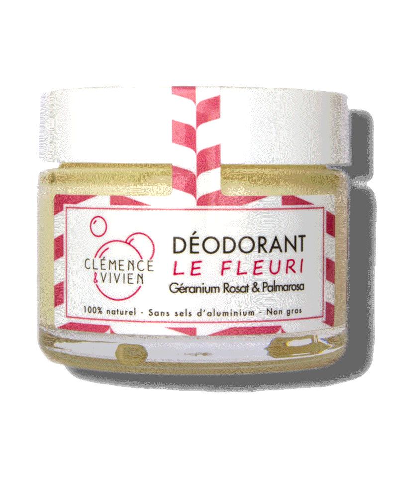 CLÉMENCE & VIVIEN Le Fleuri Déodorant bio aux huiles essentielles
