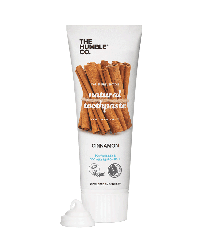THE HUMBLE CO. Dentifrice Naturel Cannelle