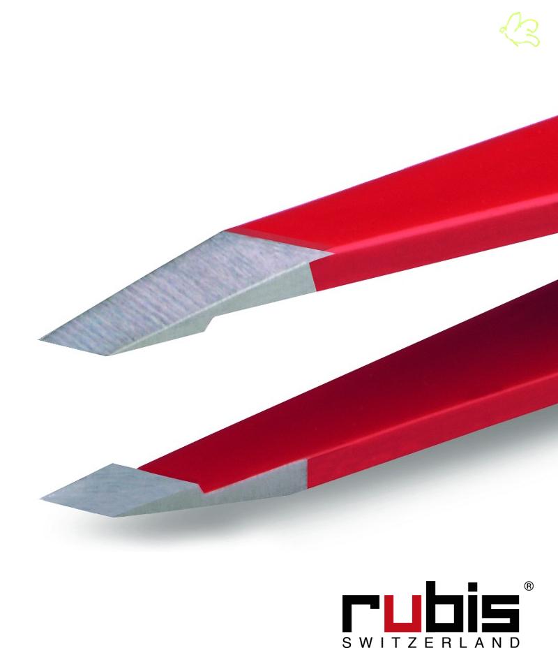 Rubis Switzerland, pince à épiler haute précision