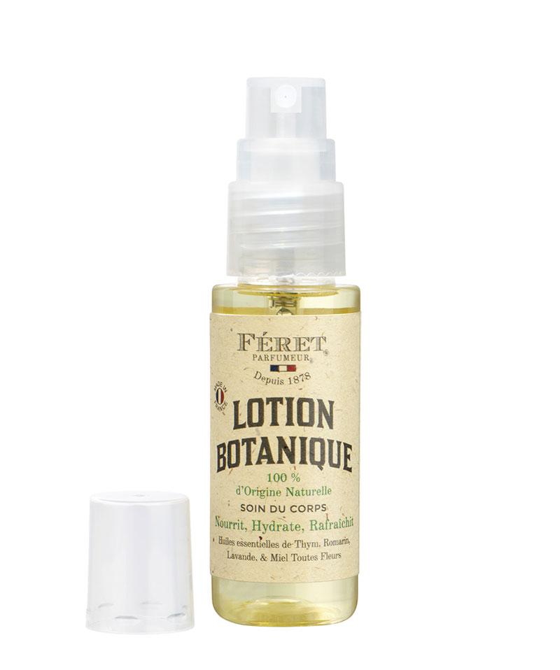 FÉRET PARFUMEUR Lotion botanique mini spray 25ml