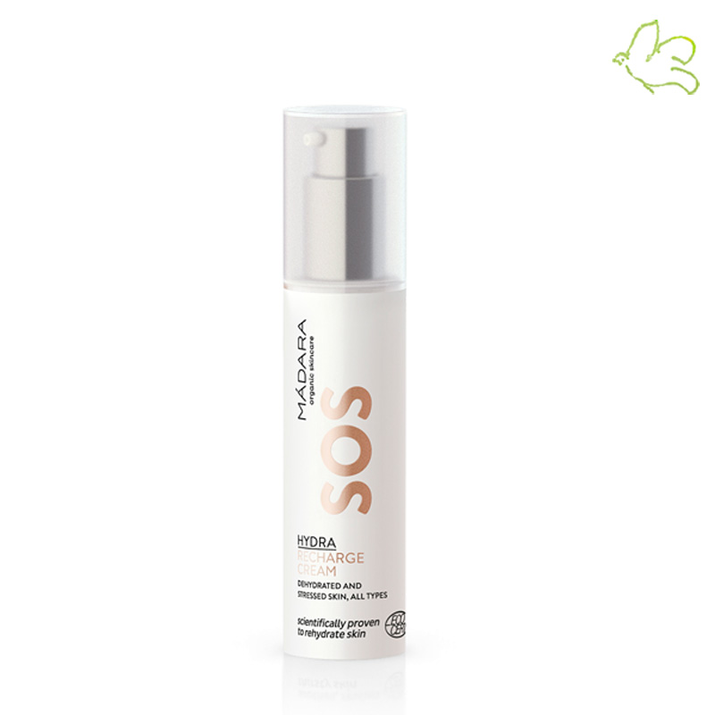 MADARA COSMETICS Crème Hydratante Visage bio SOS Hydra Recharge