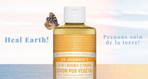 Dr. Bronner's – Heal Earth !