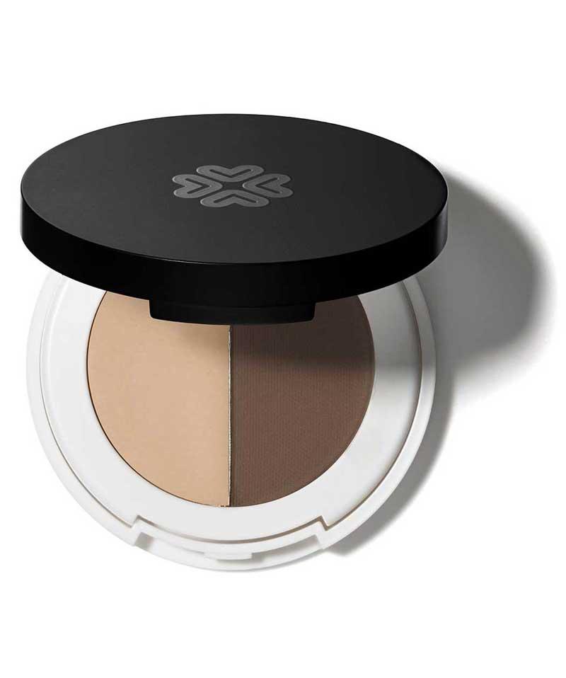 Duo Ombre à Sourcils Lily Lolo maquillage bio naturel cire et fard
