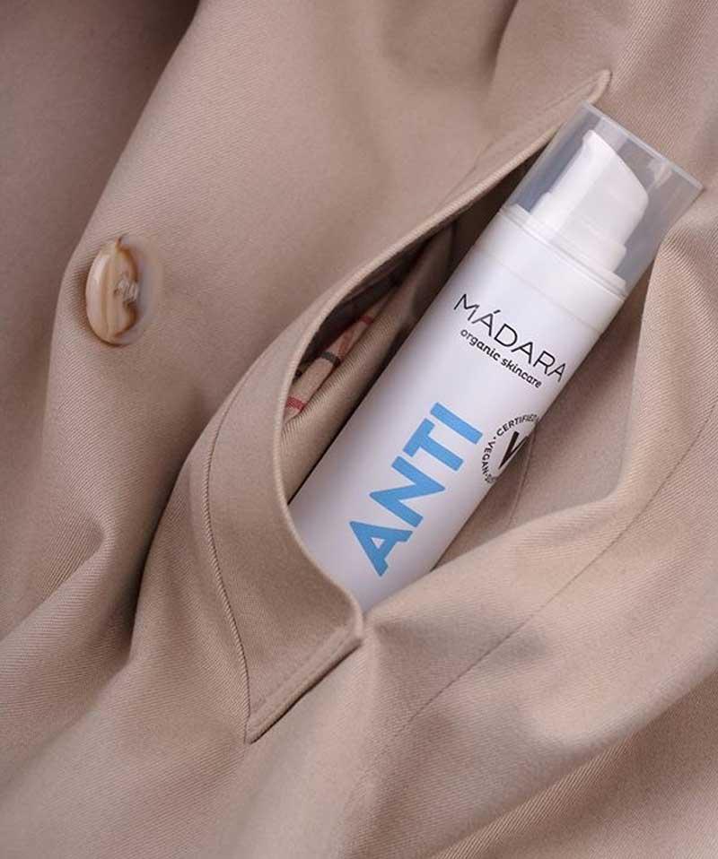 Gel anti-bactérien hydratant Mains bio 30ml ANTI  MADARA cosmetics