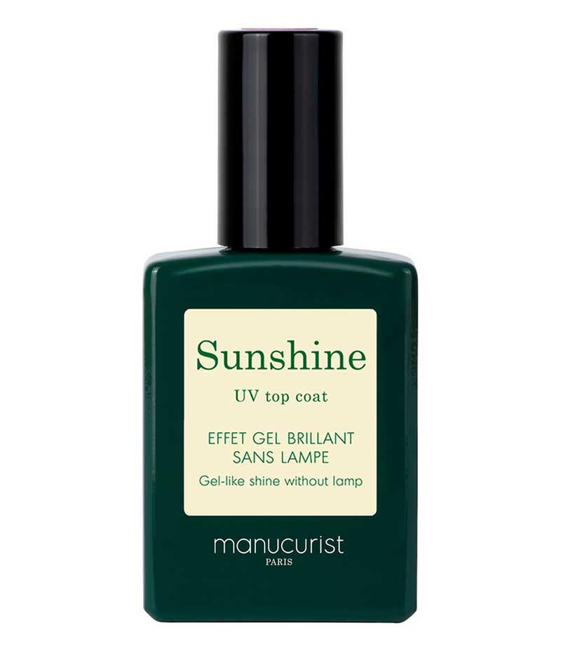 MANUCURIST PARIS Vernis GREEN Top coat Sunshine