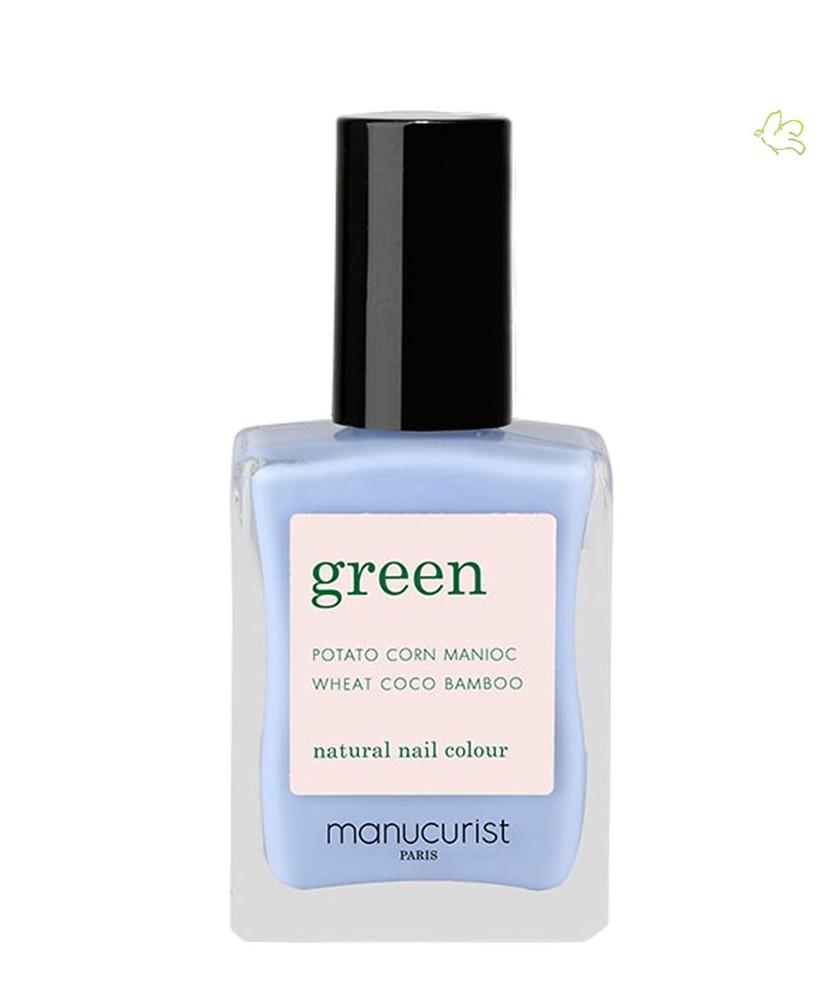 MANUCURIST PARIS Vernis GREEN Lilas bleu clair lavande pastel