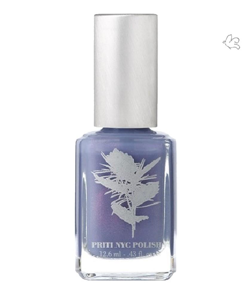 PRITI NYC Vernis à Ongles Naturel & Vegan 379 Happy Wanderer bleu violeté pastel