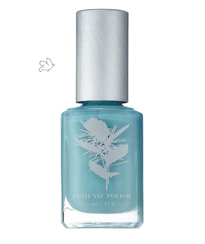 PRITI NYC Vernis à Ongles Naturel & Vegan 643 Crown of Thorns bleu menthe